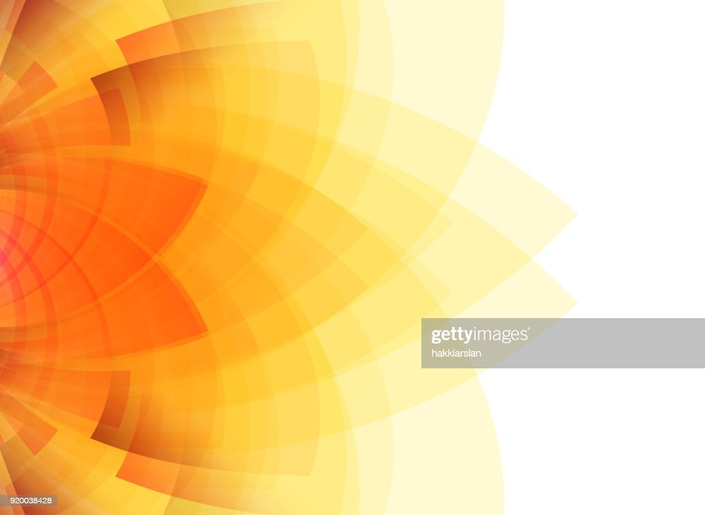 Summer concept abstract yellow background.