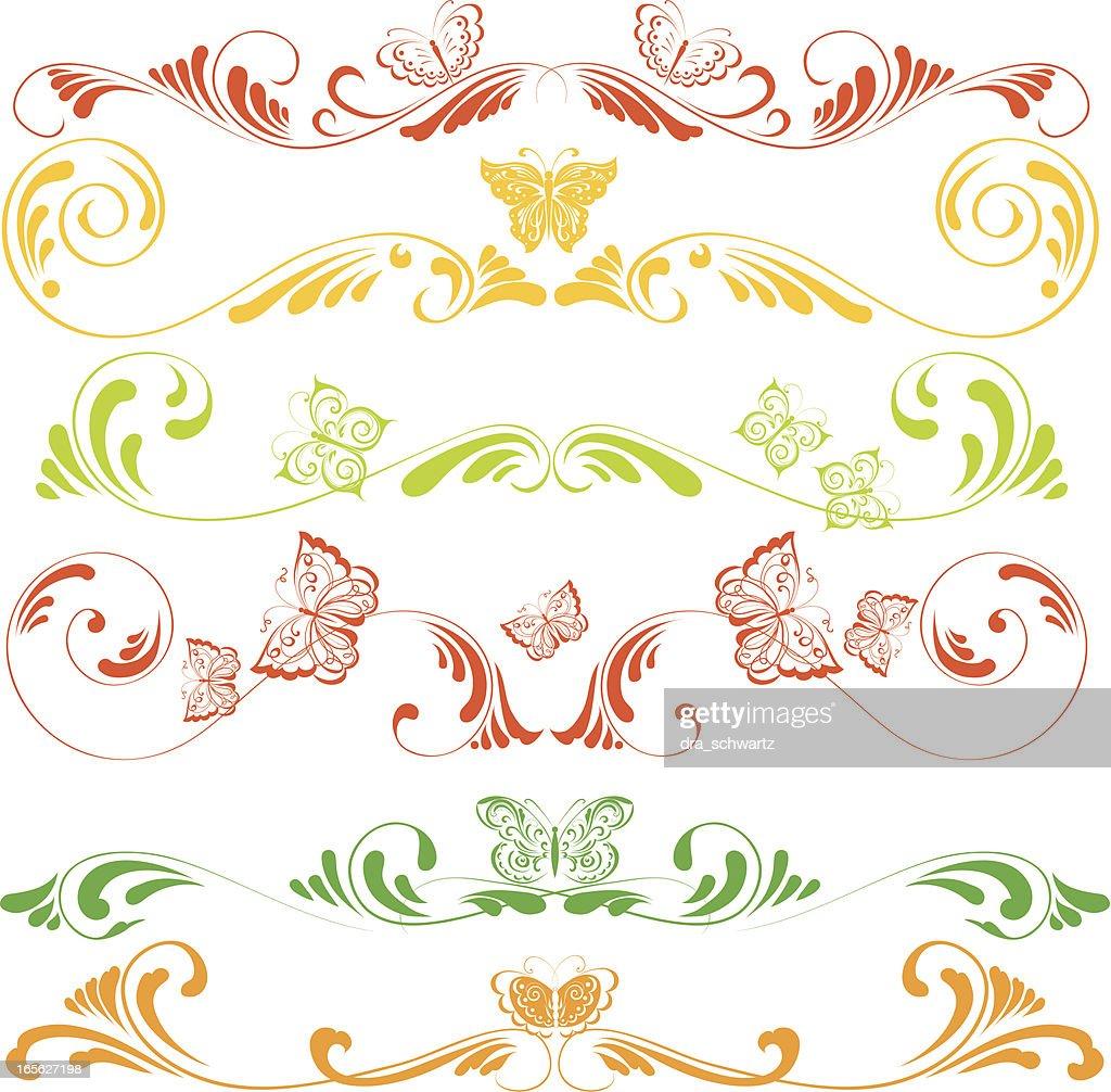 Summer decorative ornaments