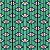 Summer ethnic pattern vector seamless