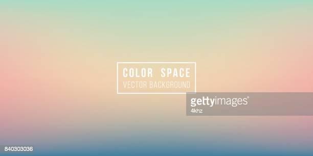 Summer Evening Soft Color Space Defocus Smooth Gradient Background