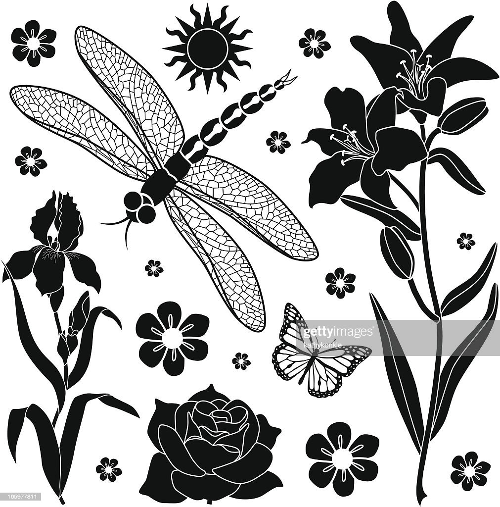 summer garden design elements