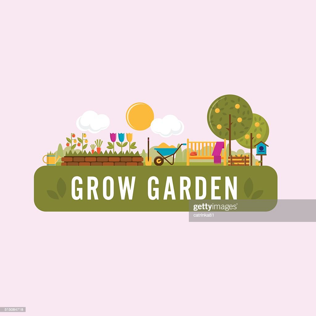 Summer Gardening banner