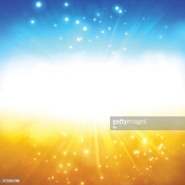Summer Glow Background