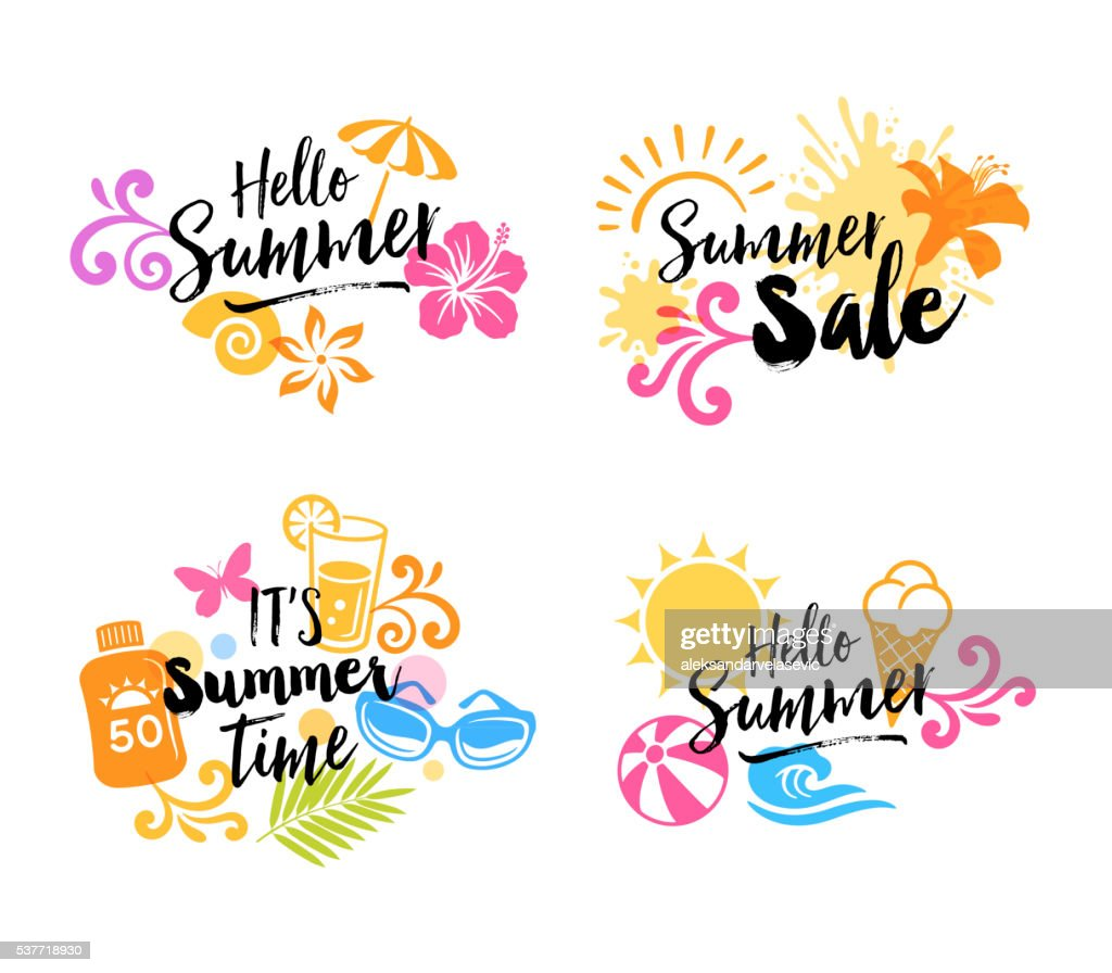 Summer Graphics - Icons