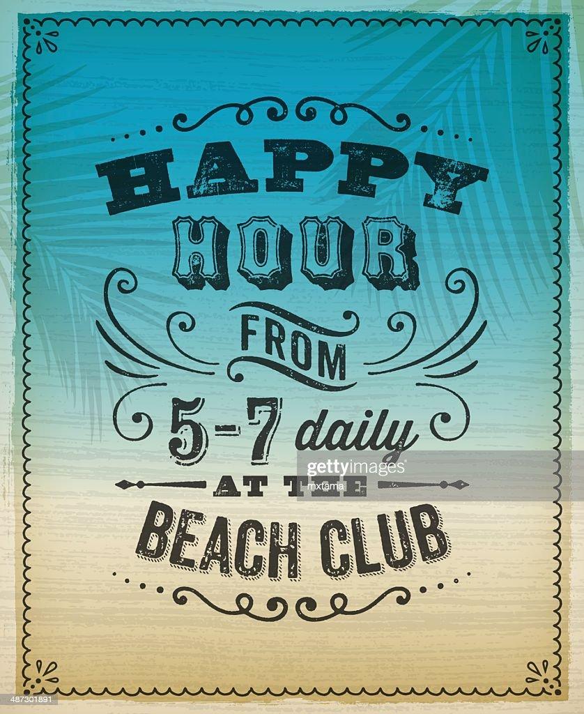 Summer Happy Hour Invite