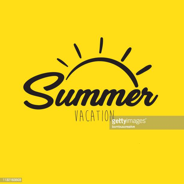 illustrazioni stock, clip art, cartoni animati e icone di tendenza di summer holiday - summer