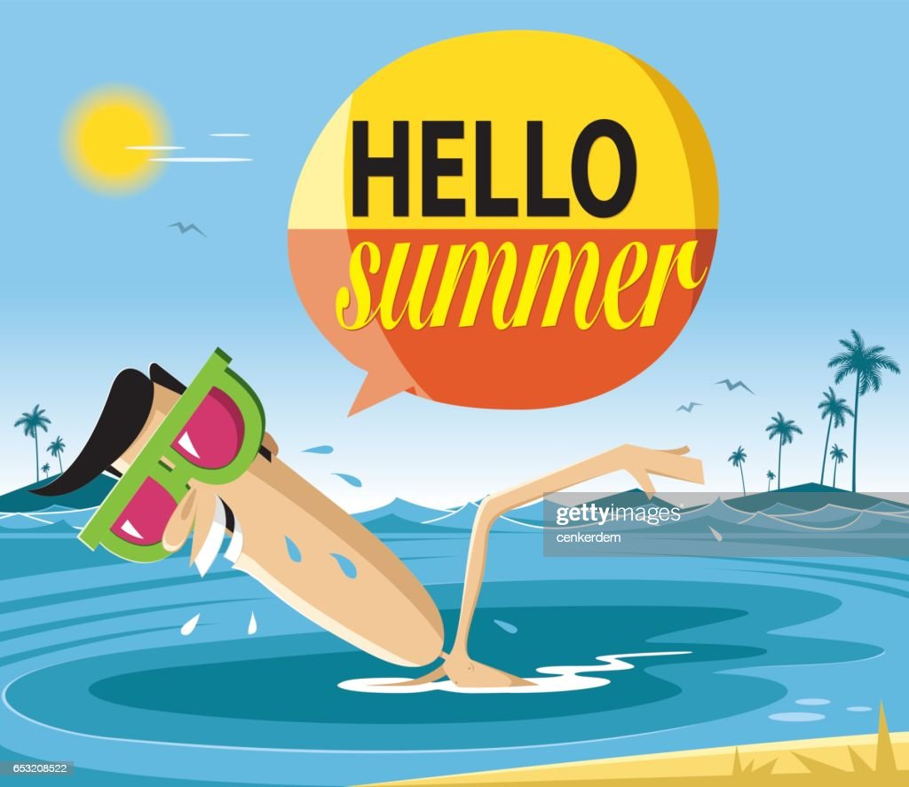 Summer holiday : Vector Art