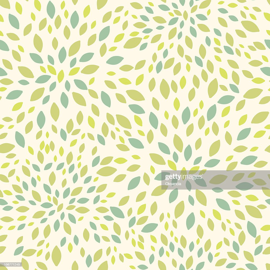 Summer leaves texture seamless pattern