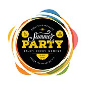 Summer party full color