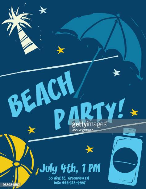 Summer Party Invites