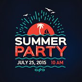 Summer Party Message