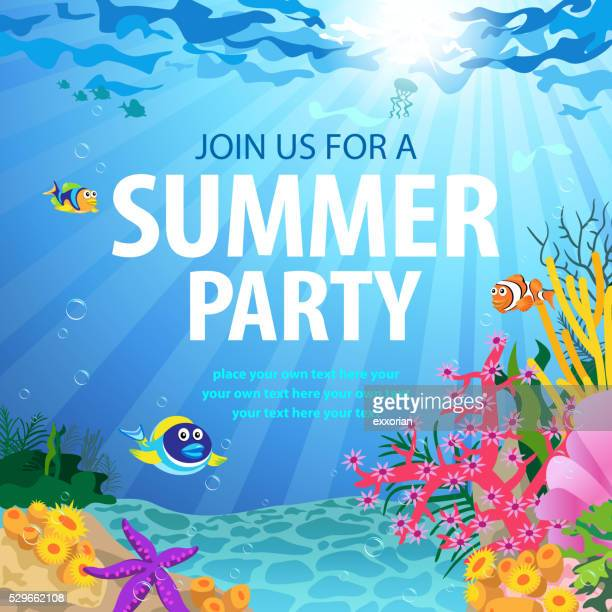 Summer Party On Ocean Floor