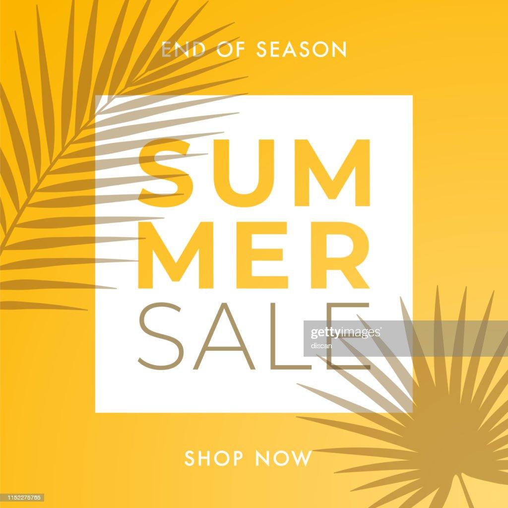 Conception de vente d'été pour la publicité, bannières, dépliants et Flyers. : Illustration