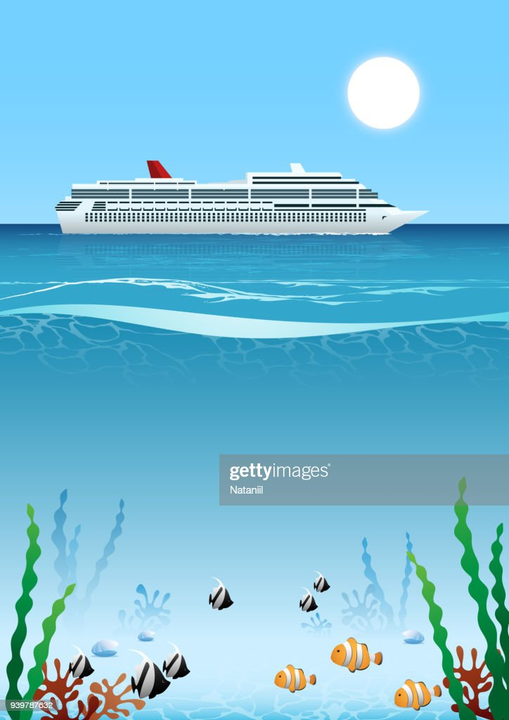 Summer sea : stock illustration