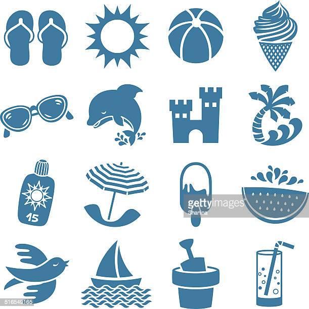 Summer Season -Icons Set