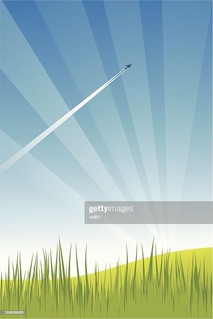 Summer Sky : stock illustration
