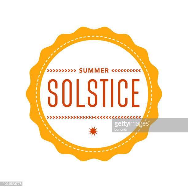 summer solstice - summer solstice stock illustrations