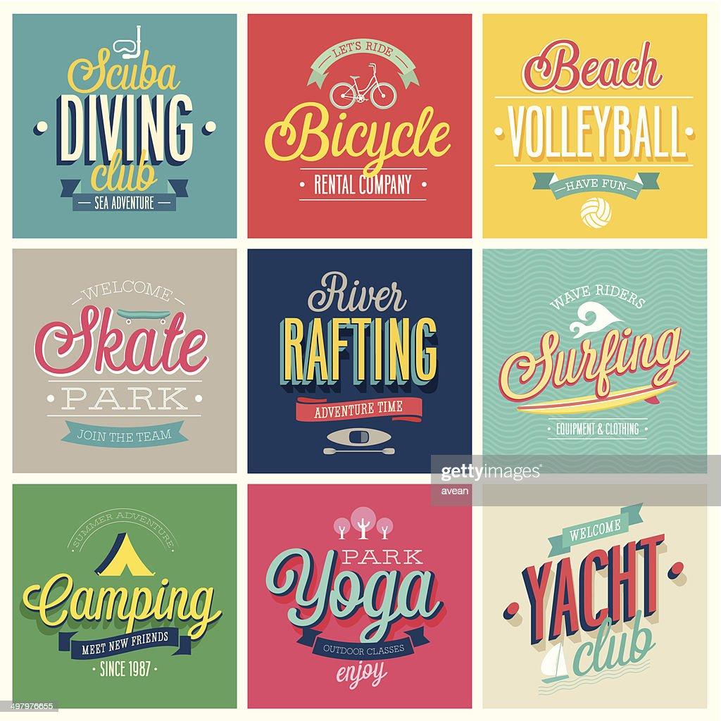 Summer sports set