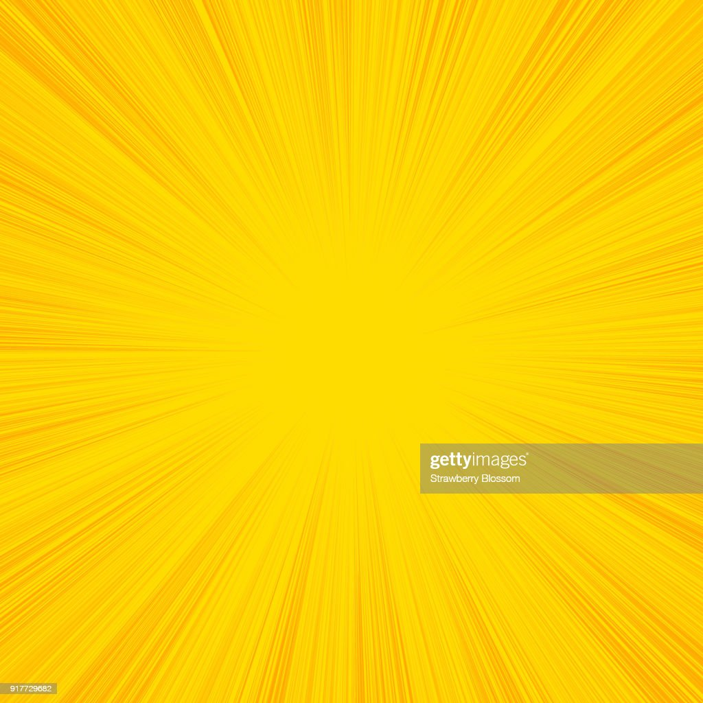 Summer sun rays, sunburst, light rays, sunbeam background abstract black and white. Comic book speed line radial background.