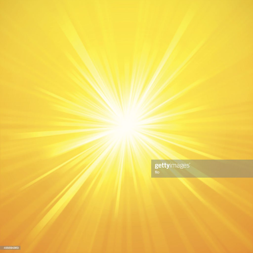 Sommer Sunburst : Stock-Illustration