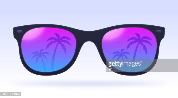 summer sunglasses - sunglasses stock illustrations