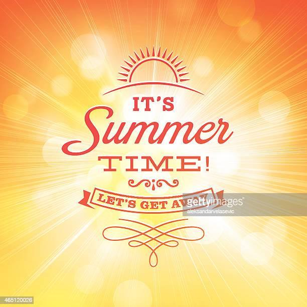 Sommer-Sonne platzen Hintergrund