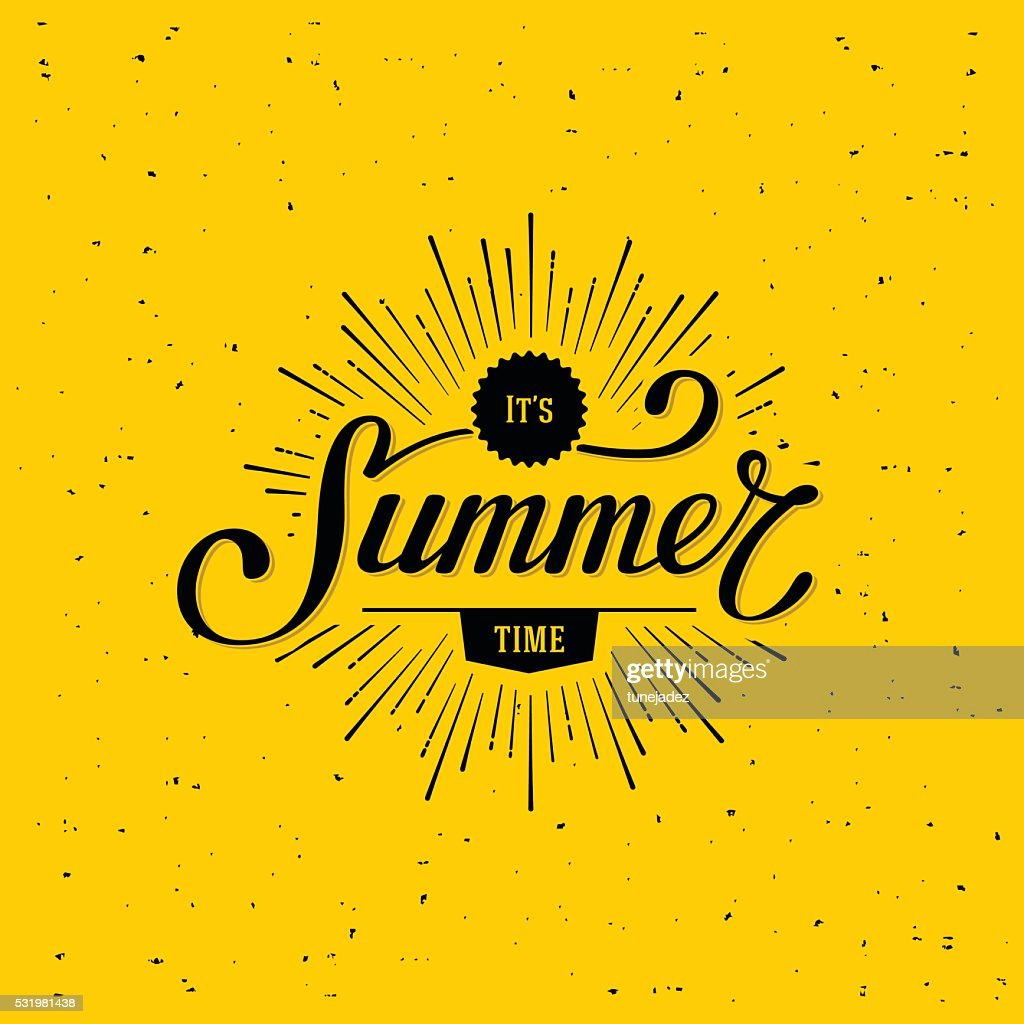 Summer time yellow