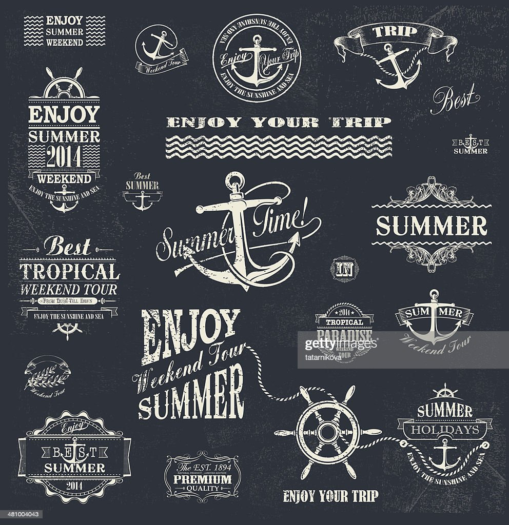 Summer trip  Design set