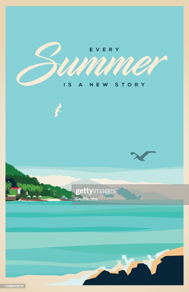 Summer : Stock Illustration