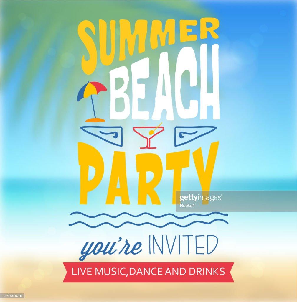 Summer-Beach Party Flyer