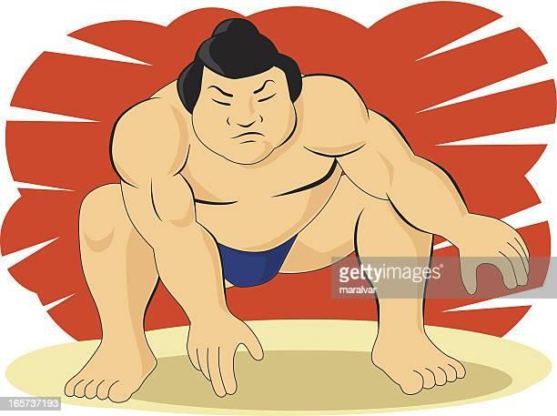 相撲戦闘機 - 相撲点のイラスト素材/クリップアート素材/マンガ素材/アイコン素材
