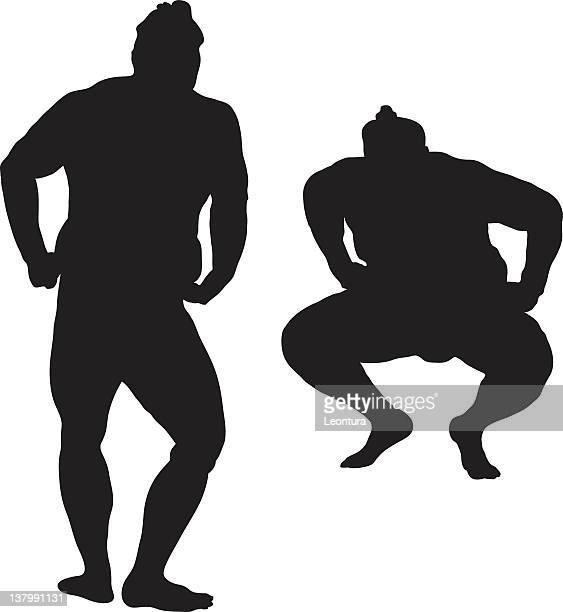 相撲力士 - 相撲点のイラスト素材/クリップアート素材/マンガ素材/アイコン素材