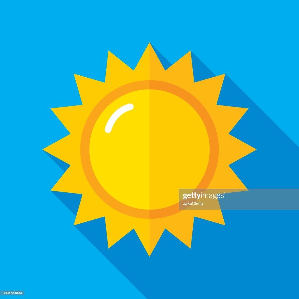 Sun Icon Flat