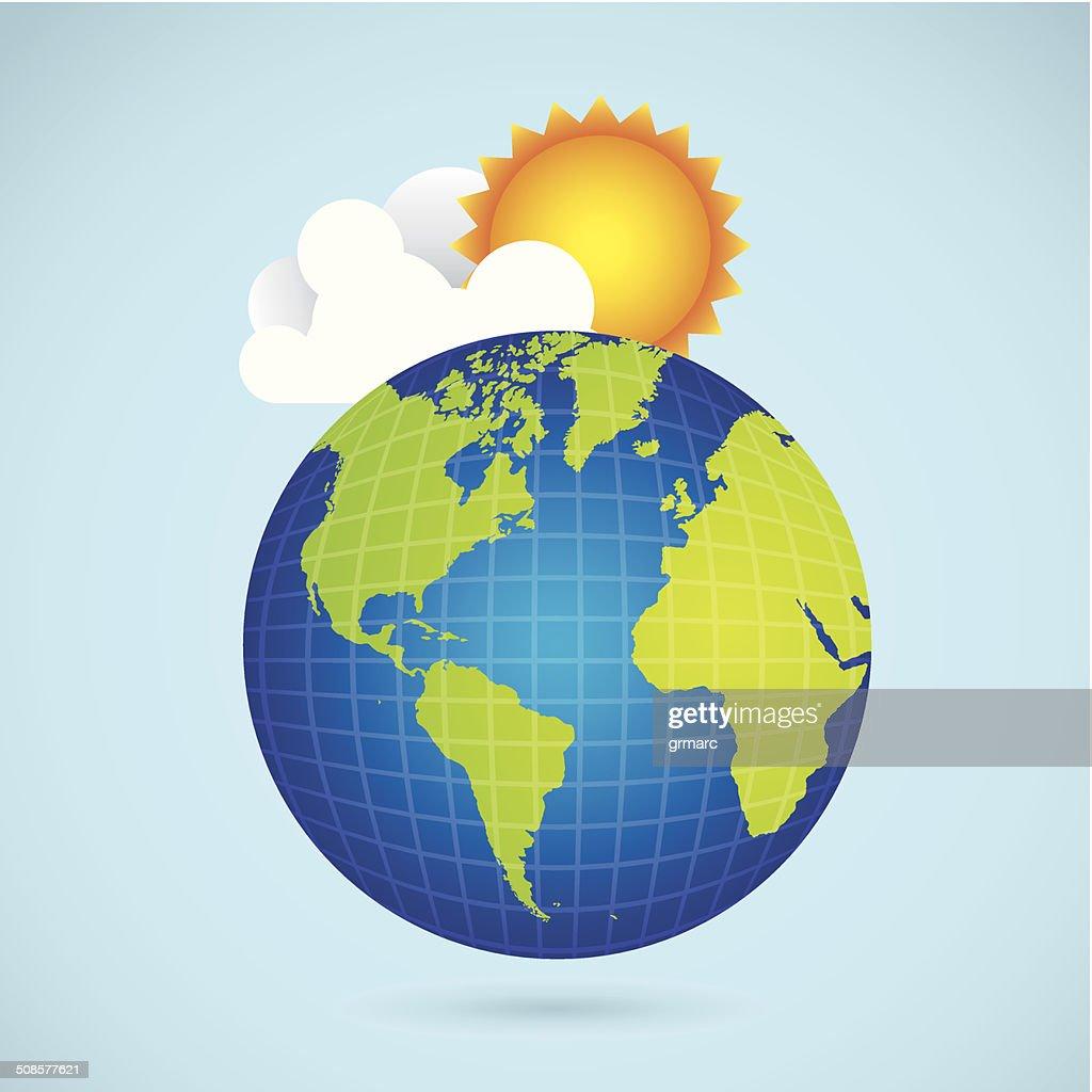 Icônes de soleil : Clipart vectoriel