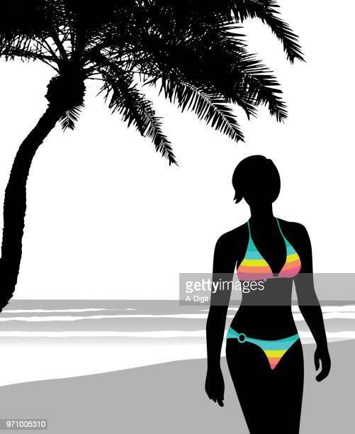 sun rays fun days - swimwear stock illustrations, clip art, cartoons, & icons
