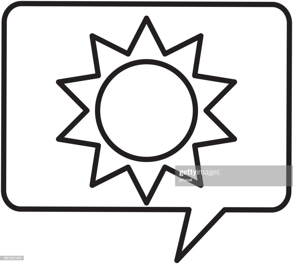 sun silhouette ecology icon vector art getty images