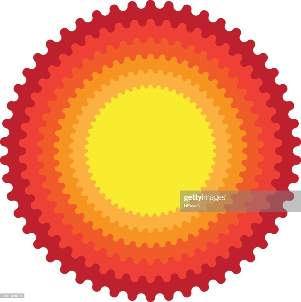 Sun star, summer, nature, sky, summer.