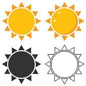 Sun, sun icon