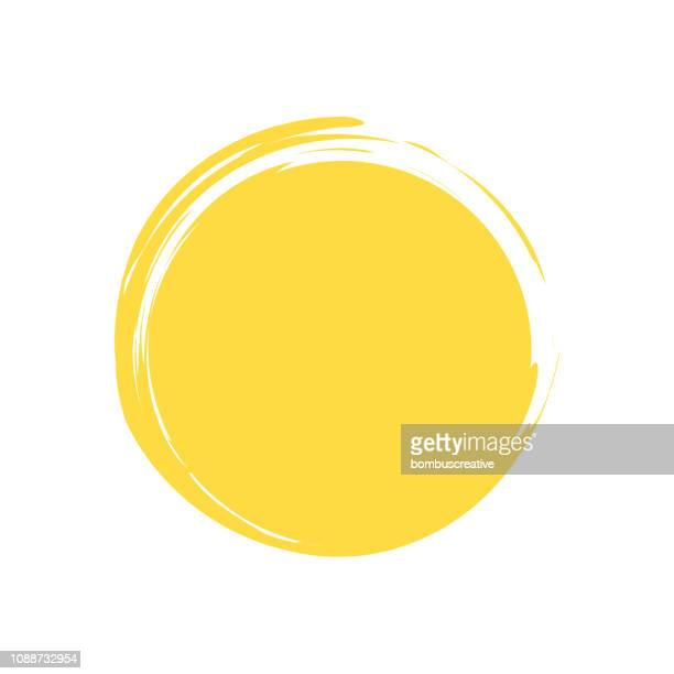 sun - painted image stock illustrations