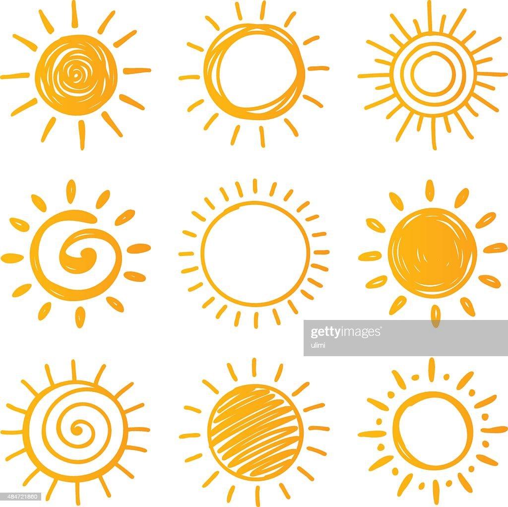 Sun : Stock Illustration
