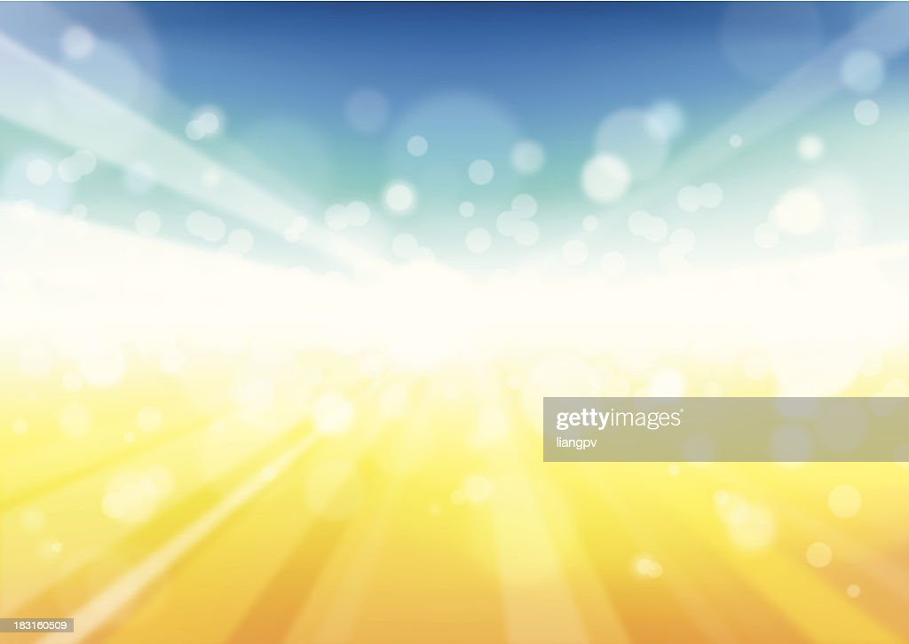 Sunbeam Background - Illustration