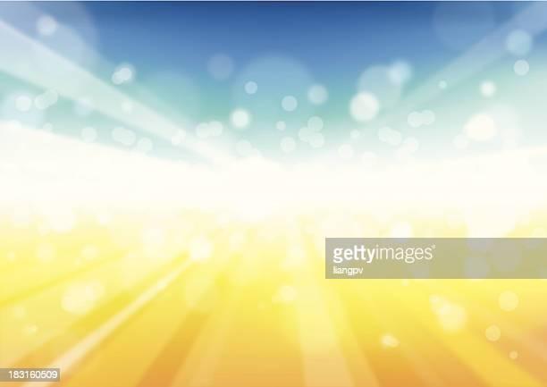 Sonnenstrahl Hintergrund-Abbildung