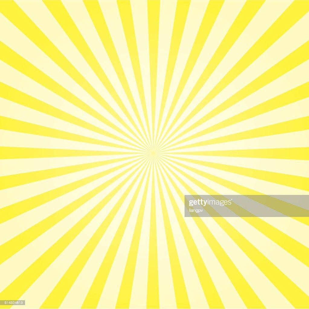 Sonnenstrahl Hintergrund : Stock-Illustration
