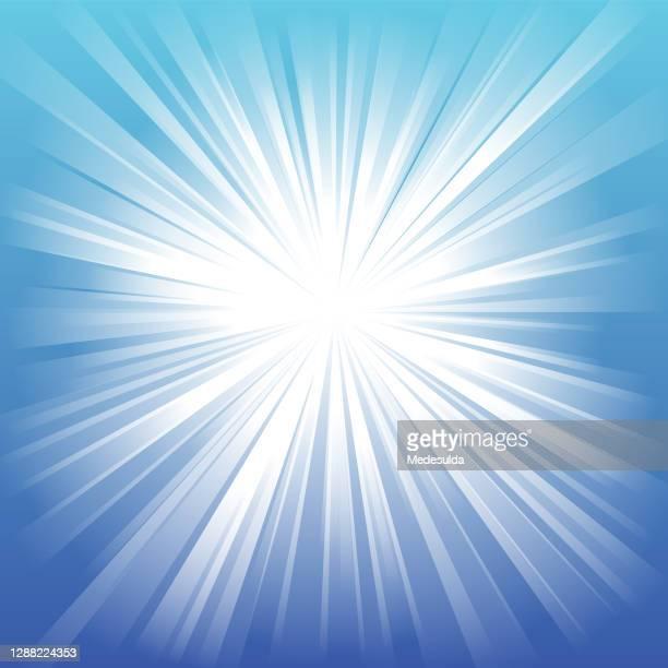 ilustraciones, imágenes clip art, dibujos animados e iconos de stock de sunbeam - rayo de luz