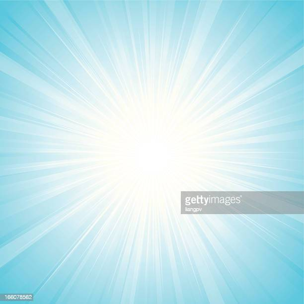 sunbeam - lens flare stock illustrations