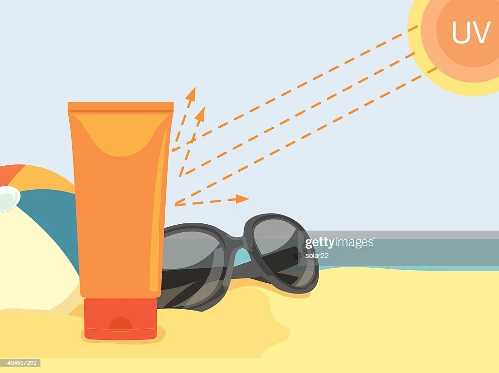 Sunblock Cream Reflect UV