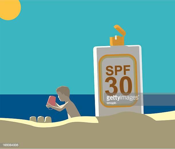 Suncream spf30