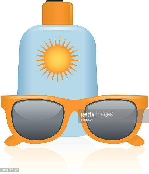 Sunglasses and Sunscreen