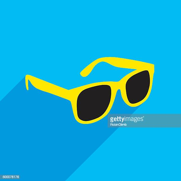 sunglasses icon - sunglasses stock illustrations