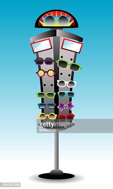 Sunglasses rack display